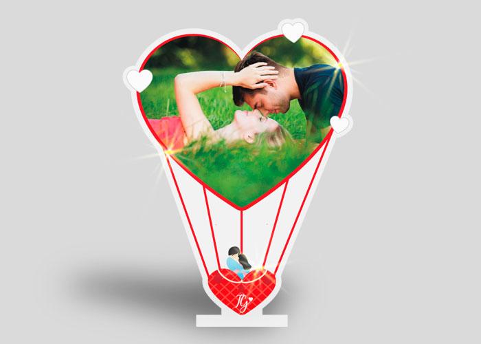 plexiglass mongolfiera san valentino